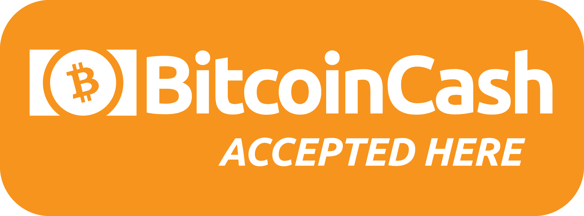 Bitcoin Cash Accepted